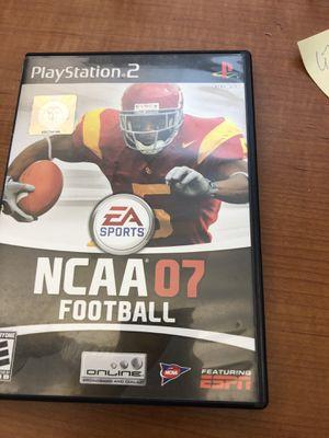 NCAA Football 2007 PS2 for Sale in Atlanta, GA
