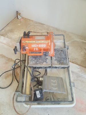 Tile saw mk 660 for Sale in St. Louis, MO