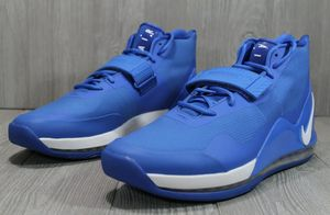 New Nike Air Force Max 19 Basketball Shoes Mens Royal Blue AR4095-404 for Sale in Jacksonville, FL
