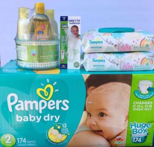 Pampers Diapers Bundle ALL for $40 for Sale in Lake Forest, CA