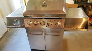 Charbroil gas grill with side burner for Sale in Westbrook, ME