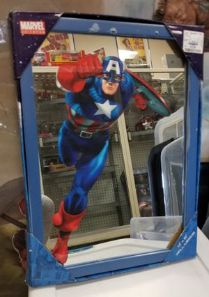 Captain America Wall Mirror Unopened Box for Sale in Baltimore, MD