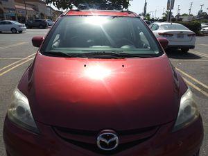 08 Mazda 5s 4cilindros titulo limpio automatico mini van para 8 pasajeros corre bien $$ for Sale in Buena Park, CA