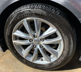 """2014 2015 2016 2017 INFINITI Q50 17"""" SET OF 4 WHEELS RIMS WITH USED TIRES 5X114.3 for Sale in Fort Lauderdale,  FL"""
