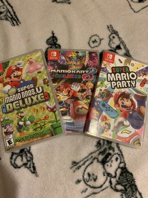 Nintendo switch games for Sale in Duncanville, TX