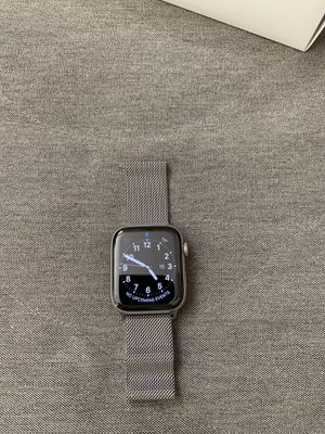 Apple Watch Series 4 Silver Stainless Steel Cellular for Sale in Berkeley, CA