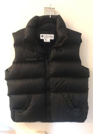 Black Columbia down vest-New! for Sale in San Mateo, CA