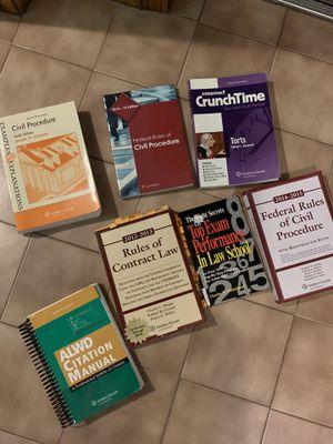 1L Law school books for Sale in Malden, MA