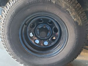 Mastercraft tires 31x10.50x15 on 5x4.5 steel wheels for Sale in Lacey, WA