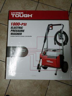 Hyper tough 1800 psi electric pressure washer new for Sale in Lodi, CA