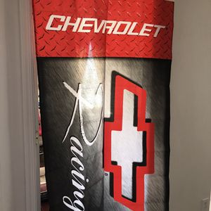 Chevrolet Racing Flag and Hat for Sale in Newport News, VA