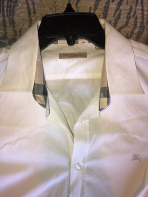 Burberry dress shirt (men's) size: 2x for Sale in Bakersfield, CA