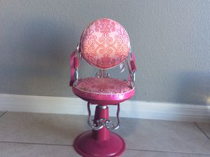 American girl doll salon chair for Sale in Haines City, FL