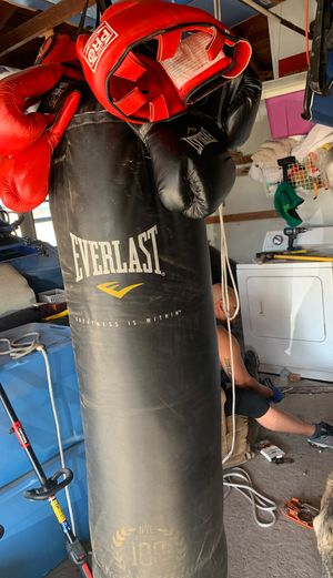 Punching bag for Sale in Santa Maria, CA