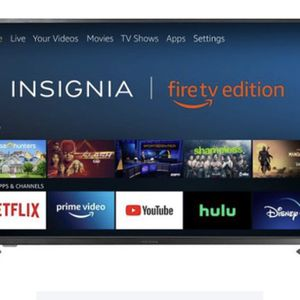 "Insignia™ - 55"" Class LED 4K UHD Smart Fire TV Edition TV for Sale in Alpharetta, GA"