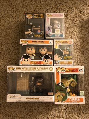 FUNKO POPS FOR SALE. $30 EACH! for Sale in San Francisco, CA