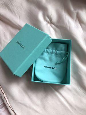 Tiffany box and pouch (empty) for Sale in Fairfax, VA