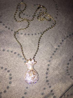 Money bag rose gold chain for Sale in Richmond, VA