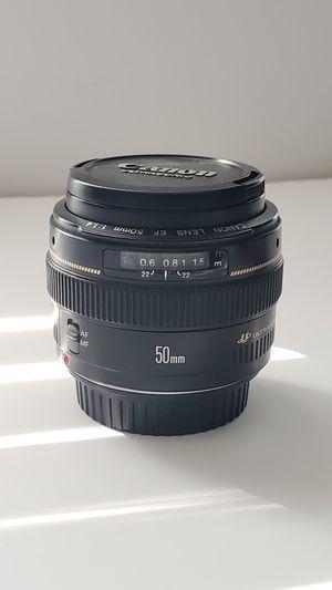Canon 50mm f1.4 Ultrasonic for Sale in Etiwanda, CA