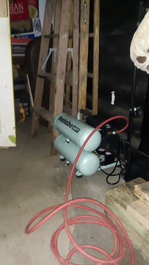 Air Compressor Metabo jobsite 135psi for Sale in Arlington, WA