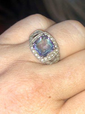 Mystic/Fire Topaz Ring on Sterling Silver for Sale in Norfolk, VA
