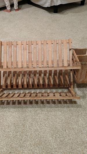Wooden Dishes rack for Sale in Bristow, VA