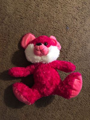 Stuffed Pink Bear for Sale in Lancaster, CA