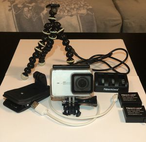 YI 4K Action Camera and Water Proof Case for Sale in Fairfax, VA