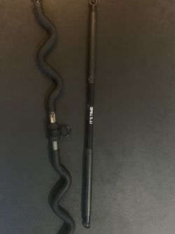 Resistance Band And Bar Package (offers May Be Considered) for Sale in Alexandria,  VA