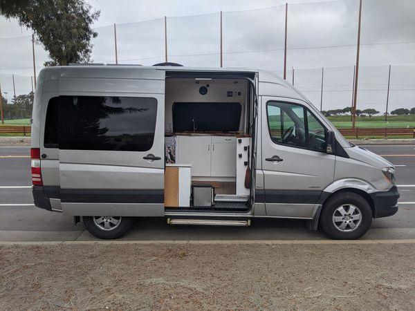 Converted Stealth Camper Van Build! 2014 Sprinter Van 148k mi