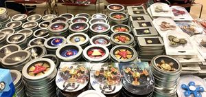 Marvel and Justice League Fidget Spinners for Sale in San Leandro, CA