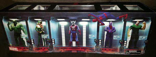 2016 SDCC San Diego Comic-Con Exclusive Hasbro Marvel RAFT Box Set SPIDER-MAN Action Figure Collection