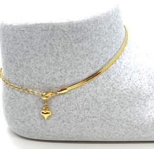Anklet Stainless Steel 18K Gold Plated for Sale in Kissimmee, FL