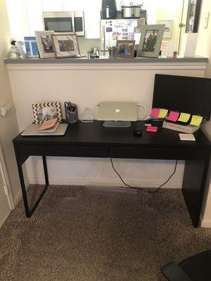 Dark brown desk for Sale in Denver, CO