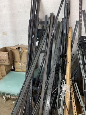Business metal shelves for Sale in Hialeah, FL