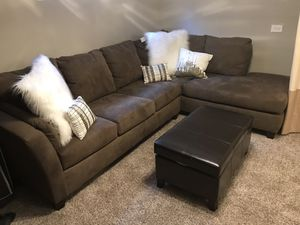 Sleeper Sectional Sofa with Chaise for Sale in Wilmette, IL
