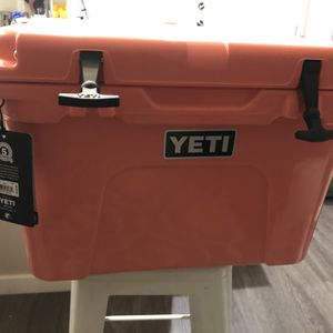 """Yeti """"Tundra 35!"""" Coral!! That's Right!!! Coral Baby!! Brand New W/tags for Sale in Gilbert, AZ"""