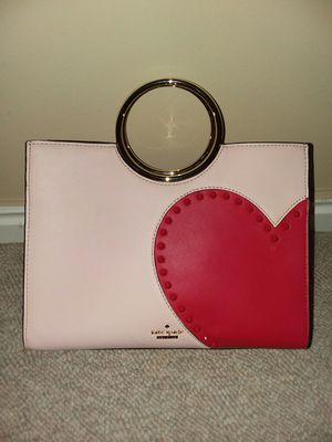 Kate Spade Studded Heart hand bag for Sale in West Jordan, UT