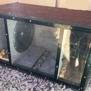 Kicker Box w/speakers for Sale in Henderson, NV