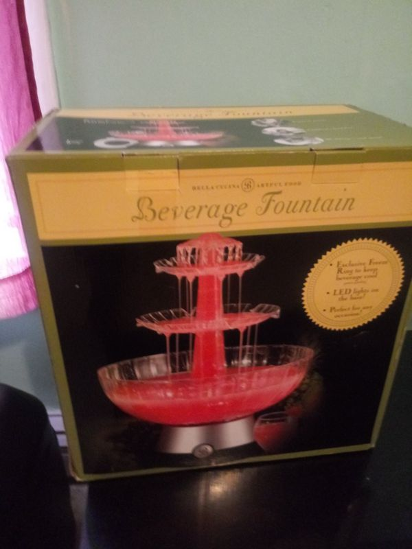 Beverage fountain