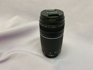 Canon EF 75-300mm f/4-5.6 III USM Ultrasonic Lens for Canon DSLR Cameras! Excellent condition! for Sale in Los Angeles, CA