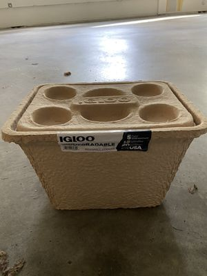Biodegradable Igloo Cooler for Sale in Seattle, WA