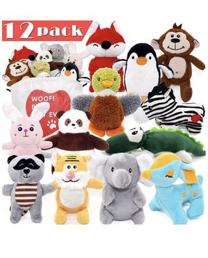 12 pack squeaky puppy toys for Sale in Woodinville, WA