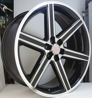 "Brand New 24"" Rep24 6x139.7 Black Machine Wheels for Sale in Hialeah, FL"