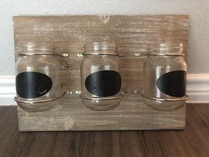 Wall decor/ Jar planter for Sale in Austin, TX
