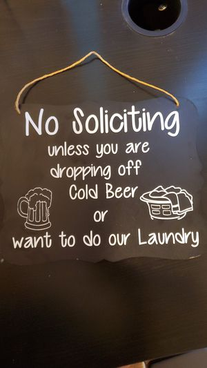 No Soliciting sign for Sale in Riverside, CA