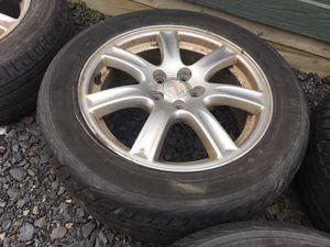 "16"" Subaru Impreza Oem Alloy Rims w/Yokohama Tires 5x100 for Sale in Saylorsburg, PA"