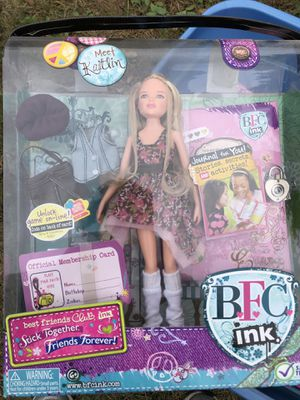 New BFC INK DOLL for Sale in Bristol, RI