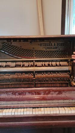Steger & sons piano for Sale in Hoquiam,  WA