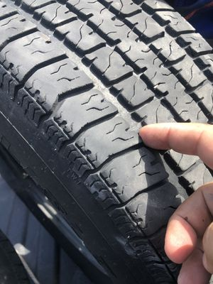 4 Trailer tires and 3 rims for Sale in Naples, FL